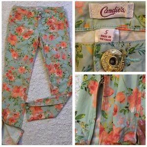 Candies' Cute Floral Jeans